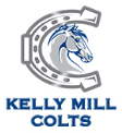 Kelly Mill Colts logo