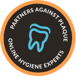 Partners Against Plaque Online Hygiene Experts badge